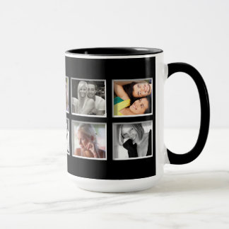 Create-Your-Own Photo Collage Coffee Mug
