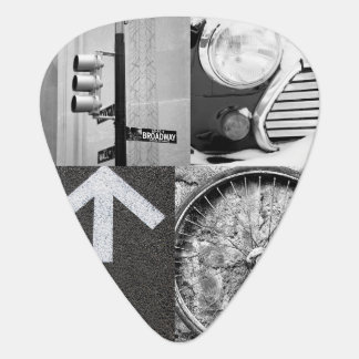 Create-Your-Own Photo Collage Guitar Pick