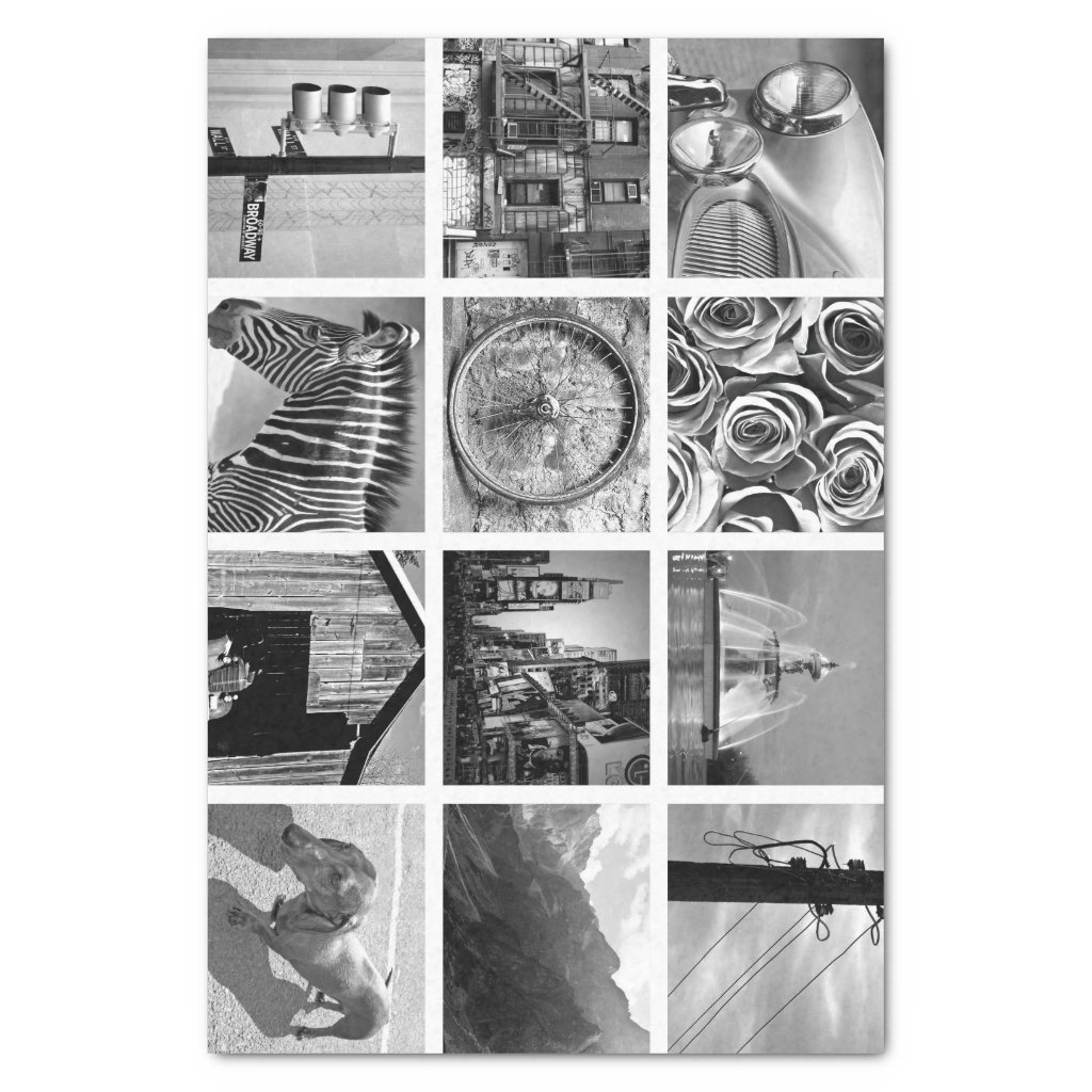 Create-Your-Own Photo Collage Tissue Paper