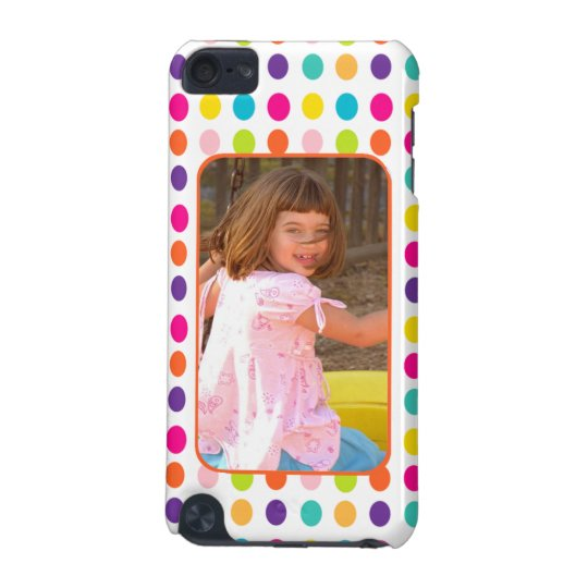 Create Your Own Photo Colourful Dots Custom iPod