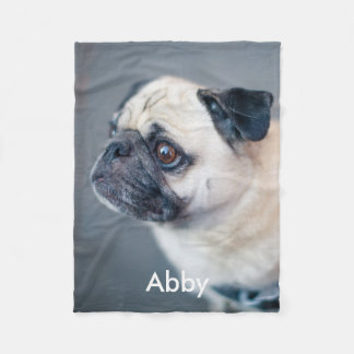 Create your own photo fleece blanket