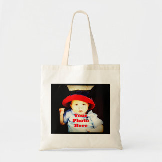 Create Your Own Photo Gifts Template Tote Bags