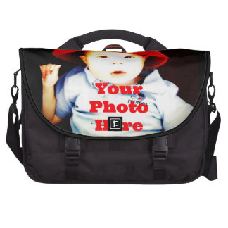 Create Your Own Photo Gifts Template Laptop Commuter Bag