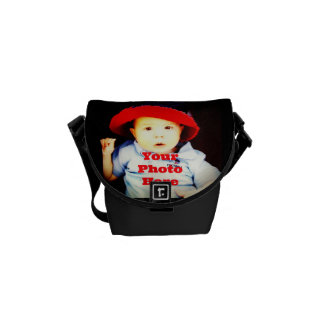 Create Your Own Photo Gifts Template Courier Bags