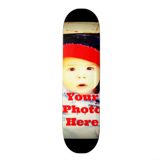 Create Your Own Photo Gifts Template Skate Board Deck