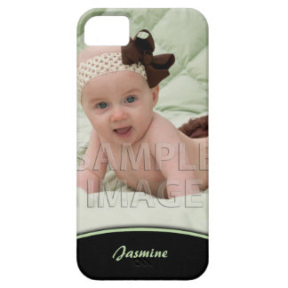 Create Your Own Photo Green Edge iPhone5 iPhone 5 Case