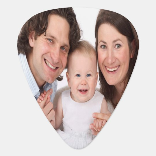 Create your own photo guitar pick
