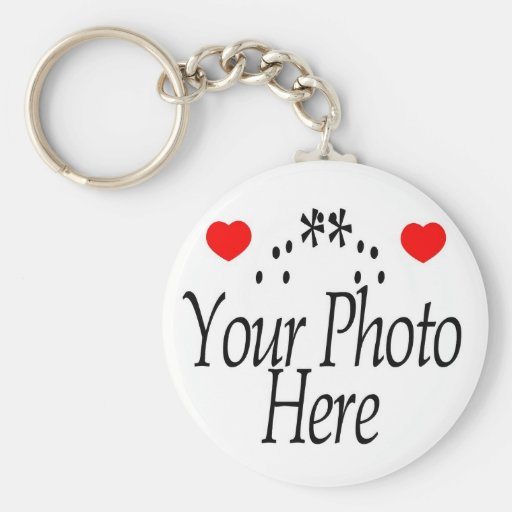 CREATE YOUR OWN PHOTO KEY CHAINS