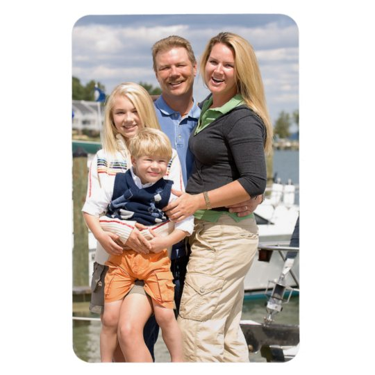 Create your own photo template flexible 4x6 magnet