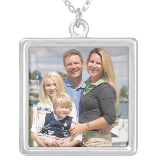 Create your own photo template necklace jewellery