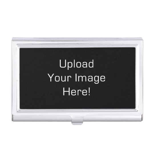 Create-Your-Own Photo Upload Business Card Holder