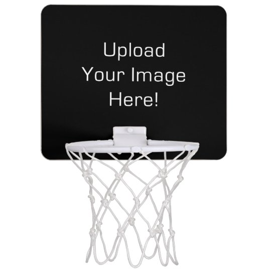 Create-Your-Own Photo Upload Mini Basketball Hoop