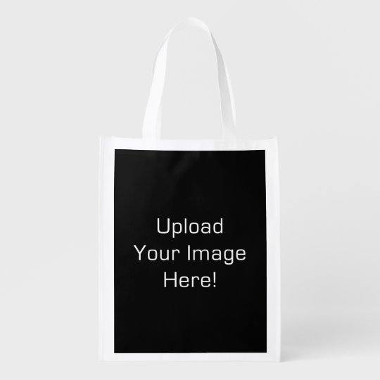 Create-Your-Own Photo Upload Reusable Tote Bag