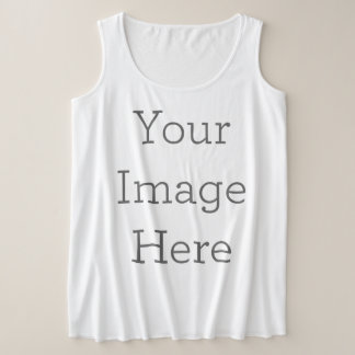 Create Your Own Plus Size Tank Top
