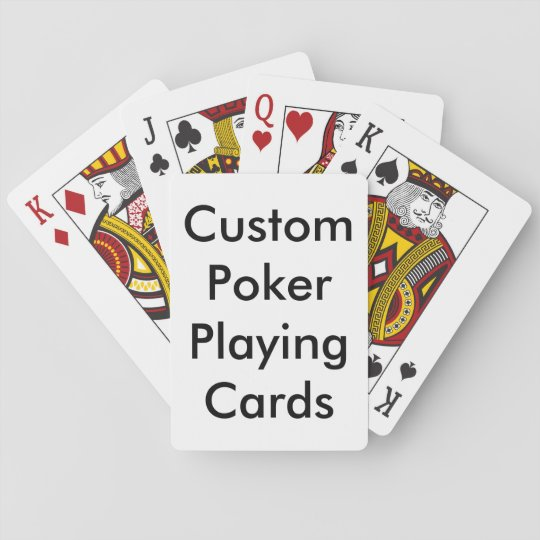 Create Your Own Poker Playing Cards