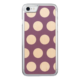 Create Your Own Polka Dot Carved iPhone 8/7 Case