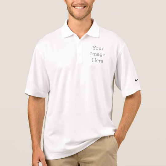 Nike Dri-FIT Pique Polo Shirt, White