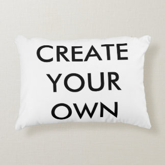 "Create Your Own Polyester Accent Pillow 12"" x 16"""