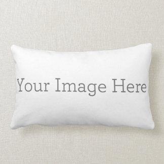 "Create Your Own Polyester Lumbar Pillow 13"" x 21"" Throw Cushions"