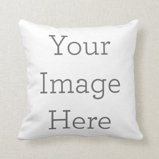 Create Your Own Polyester Throw Pillow 16x16