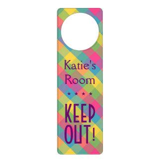 Owned by a door hangers owned by a door knob hanger designs for Create your own door