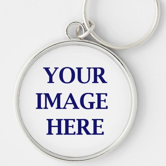 create your own products just add images and text. Silver-Colored round key ring