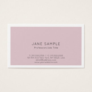 Create Your Own Professional Modern Clean Design Business Card