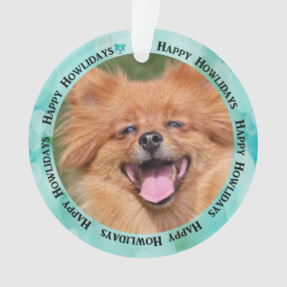 Create Your Own Puppy Dog Photo Ornament