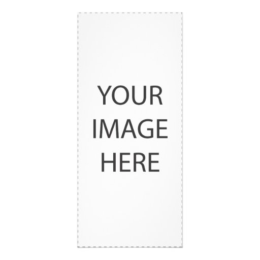 Create your own full color rack card