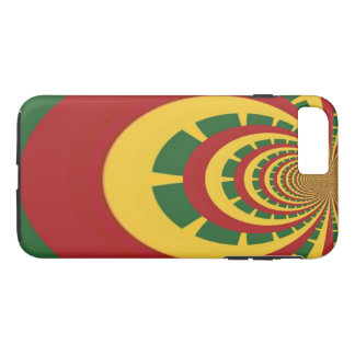 Create Your Own Red Golden Green Jamaicans iPhone 8 Plus/7 Plus Case