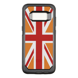 Create Your Own Red Union Jack OtterBox Commuter Samsung Galaxy S8 Case