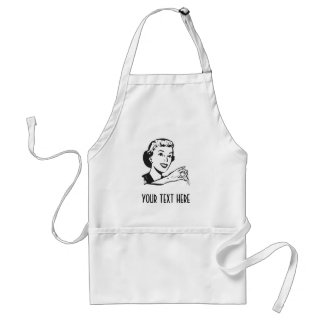 CREATE YOUR OWN RETRO SALT LADY GIFTS APRON