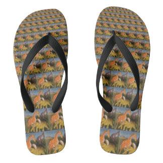 Create Your Own Safari Animals Hakuna Matata Flip Flops