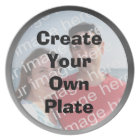 Create Your Own Silver Border Plate