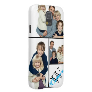Create Your Own Simple Photo Collage w/Custom Name Cases For Galaxy S5