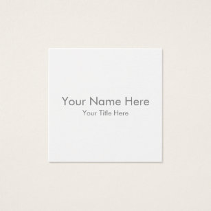 Business cards business card printing zazzle uk create your own square business card reheart Image collections