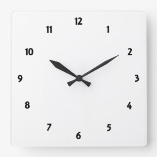 Create Your Own Square Clock