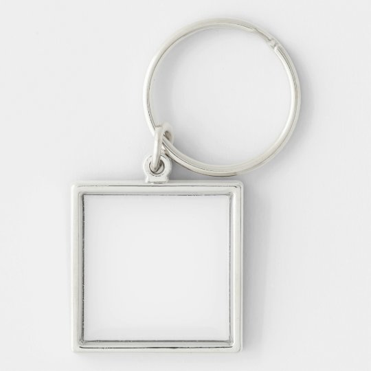 Small (3.5 cm) Premium Square Key Ring