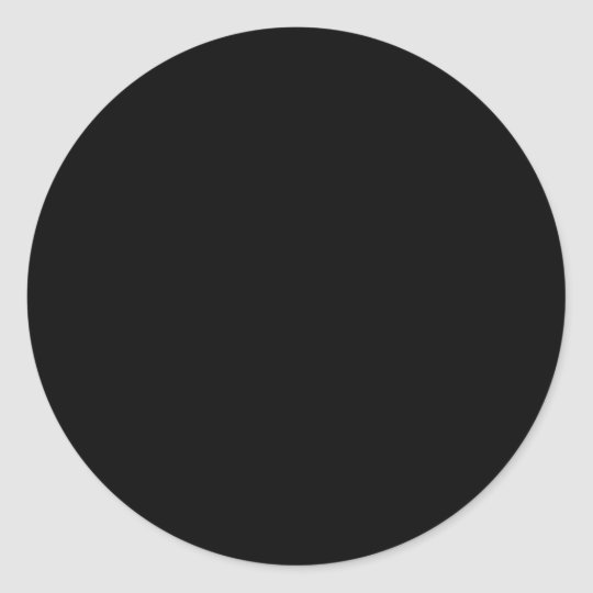 CREATE YOUR OWN STICKERS - Black Circle (Large)