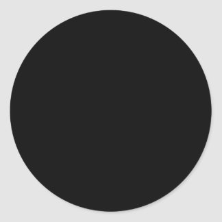 CREATE YOUR OWN STICKERS - Black Circle (Small)