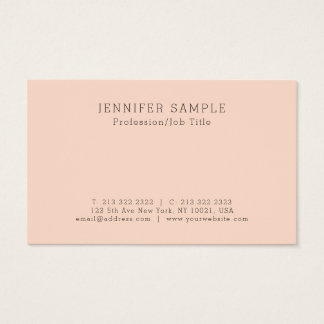 Create Your Own Stylish Simple Design Business Card
