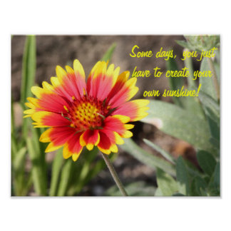 Create Your Own Sunshine Motivational Poster
