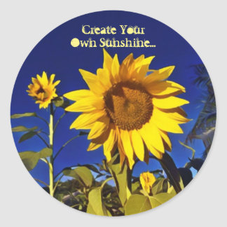 Create your own sunshine-Sunflower Stickers