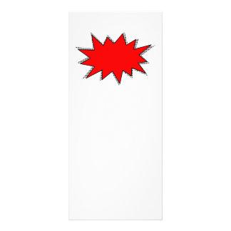 Create Your Own Superhero Onomatopoeias! POW! Full Color Rack Card