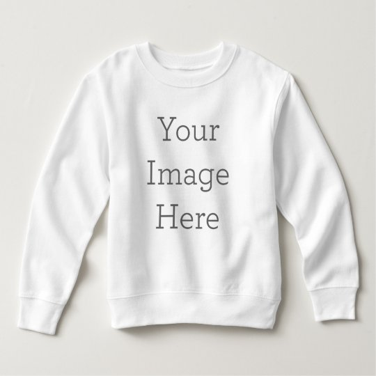 Toddler Fleece Sweatshirt, White
