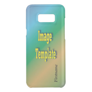 Create Your Own Template Text Name Uncommon Samsung Galaxy S8 Plus Case