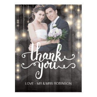 Create Your Own Thank You Card Postcard