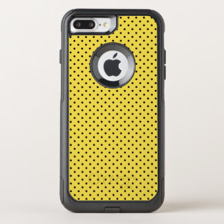 Create Your Own Tiny Black Polka Dot OtterBox Commuter iPhone 8 Plus/7 Plus Case