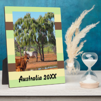 Create your own travel photo plaque
