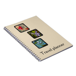 Create your own travel planner notebook